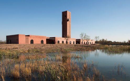 "Tower of Bricks; Brick Award 2020 Category ""Building Outside the Box""; Architects: Interval Architects, Photo:  Zhi Geng"