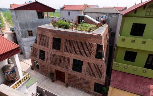 "Brick Cave; Brick Award 2020 Nominee Category ""Feeling at home""; single-family housing, Photo:  Nguyen Tien Thanh"