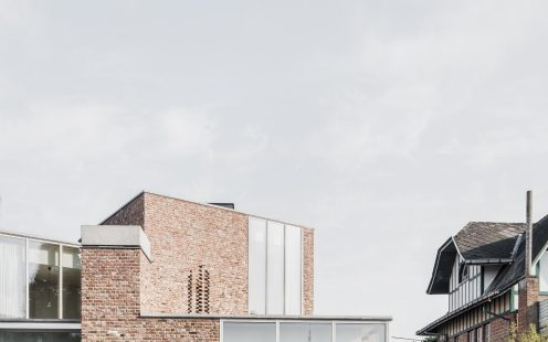 "House L-C; Brick Award 2020 Category  ""Feeling at Home""; Architects: Graux & Baeyens architecten, Photo:  Jeroen Verrecht"