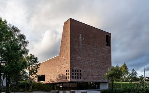 "Teglen Spikkestad Church and Culture Center; Brick Award 2020 Category ""Sharing Public Spaces""; Architects: Einar Dahle Architects and Hille Melbye Architects, Photo:  Jiri Havran"
