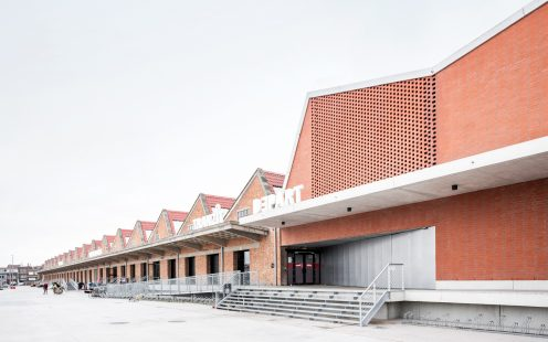 "Depart; Brick Award 2020 Nominee Category ""Sharing Public Spaces""; Architects: B-architecten, Photo:  Lucid"