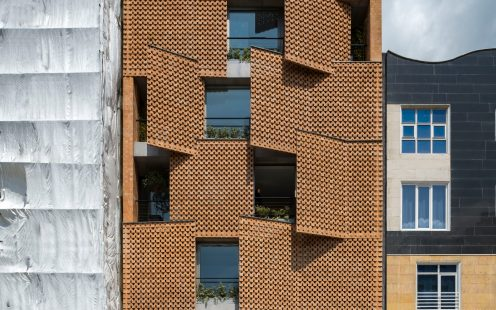 "Saadat Abad Residential Building; Brick Award 2020 Category ""Living Together""; Architects: Fundamental Approach Architects, Photo: Parham Taghioff"