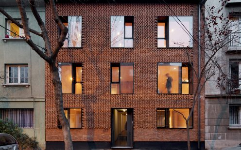 "ERC; Brick Award 2020 Nominee Category ""Living Together""; Architect: MAPAA, Photo:  Nico Saieh"