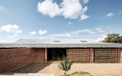 "Boarding School at the Bella Vista Agronomy Campus in Bolivia; Brick Award 2020 Category Nominee ""Living Together""; Architects: CODE, Technical University Berlin; Photo:  Christobal Palma"